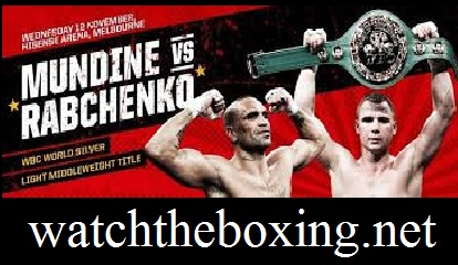 Sergey Rabchenko vs Anthony Mundine