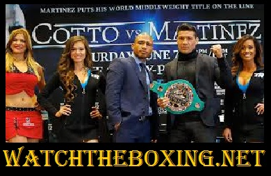 Sergio Martinez vs Miguel Cotto