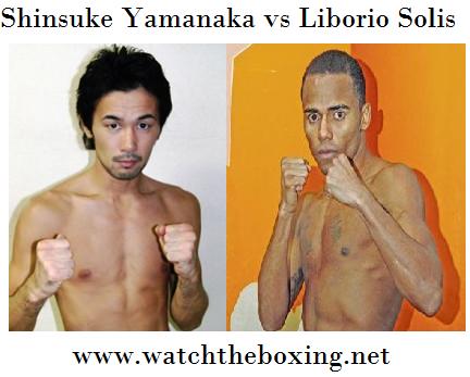 2016 Liborio Solis vs Shinsuke Yamanaka Live