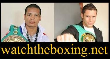 Sonny Boy Jaro vs Carlos Cuadras