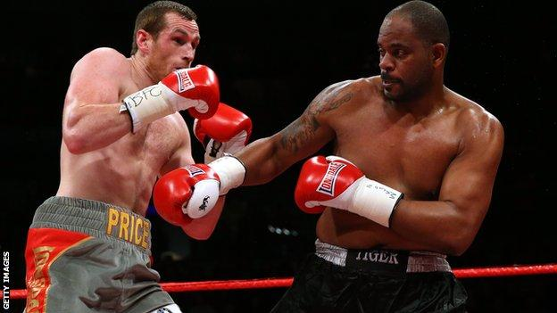 Tony Thompson vs David Price