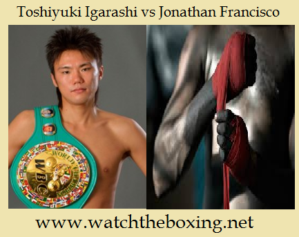 Toshiyuki Igarashi vs Jonathan Francisco