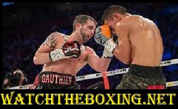 Tyson Cave vs Sebastien Gauthier
