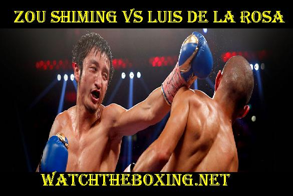 Zou Shiming Vs Luis De La Rosa