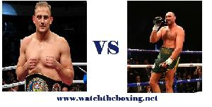 Tyson Fury VS Francesco Pianeta live boxing